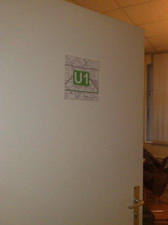 U Inn Berlin Hostel: nomi delle stanze