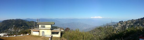 Darjeeling - Khush Alaya, A Sterling Holidays Resort: View of the Kanchanjunga from the View Point.