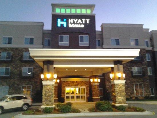 HYATT house Raleigh Durham Airport:                                     Отель