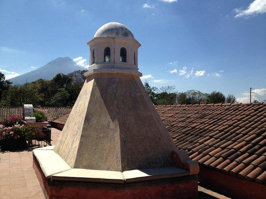 La Casona de Antigua: Cupula en la terraza