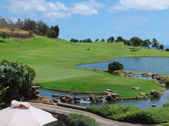 The King Kamehameha Golf Club: Great finishing hole #18