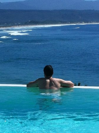 The Plettenberg Hotel: Taking in the view at The Plett pool