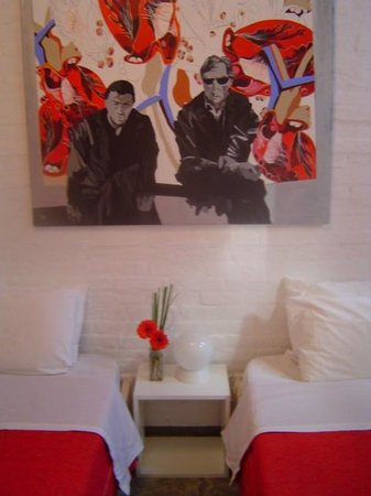 Palermo Viejo Bed & Breakfast : Red room