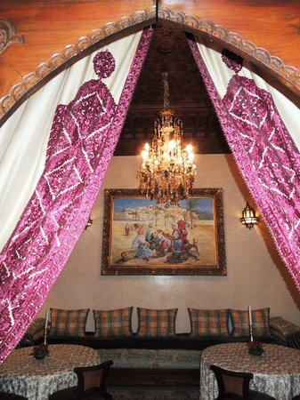 Riad Kniza: Beautiful interiors!