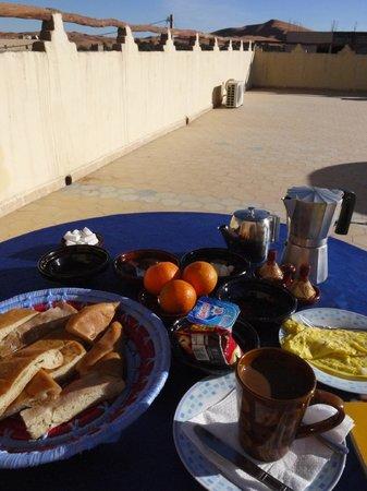 Riad Aicha: berakfast