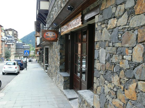 Restaurante Cerro Otto: Entrada