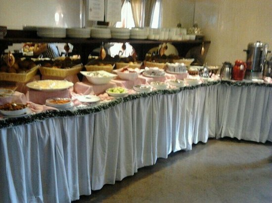 Hotel Almas: Ontbijtbuffet