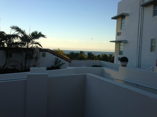 Marriott Vacation Club Pulse, South Beach: Sicht vom Balkon 5. Etage
