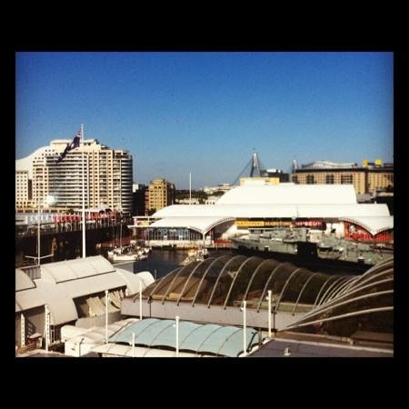 Four Points by Sheraton Sydney, Darling Harbour: view from my hotel room