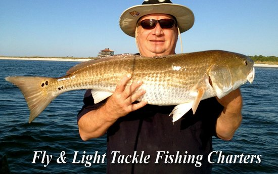 My Fishing Adventures: Monster Red fish all year long in Carrabelle Florida