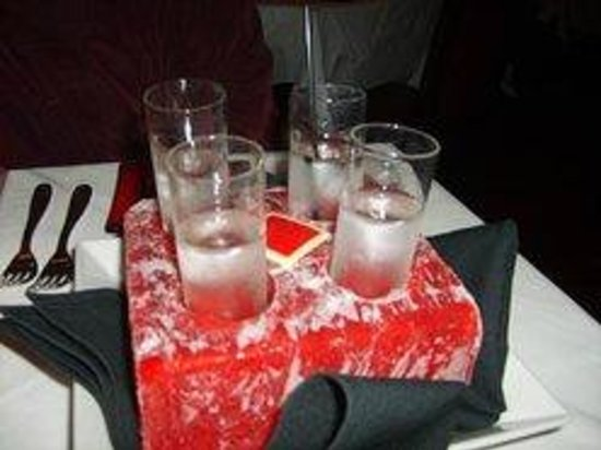 Red Square : Flight at your Table