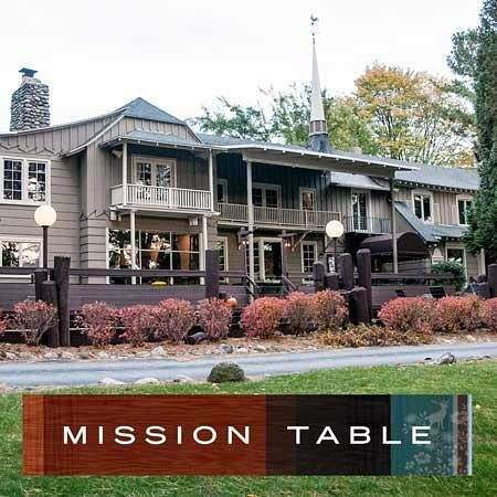 Mission Table Old Mission Peninsula Traverse City Michigan