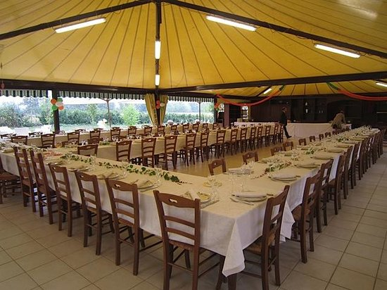 Agrihotel Roero: Our restaurant-tent