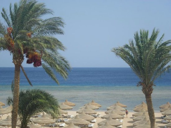 Baron Resort Sharm El Sheikh: View from our room
