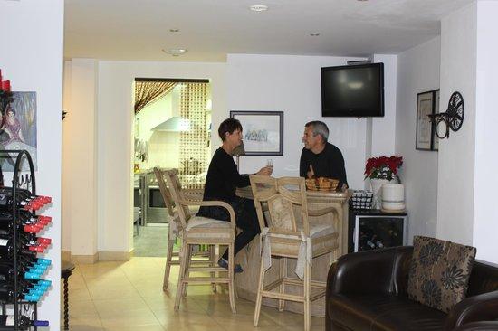 Hotel La Casa: The bar