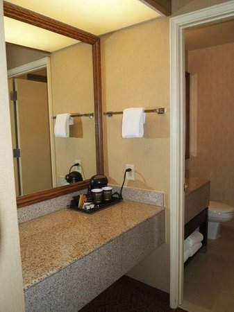 DoubleTree by Hilton Hotel Colorado Springs : Baño