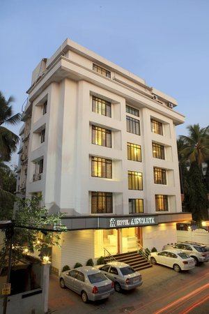 Aiswarya Hotel: Front View
