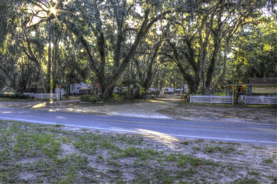 Campground Entrance Picture Of Jekyll Island Campground