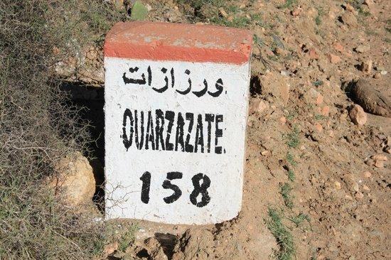 Ouarzazate, Morocco: borne