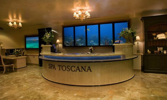 Spa Toscana at Peppermill: Spa Front Desk