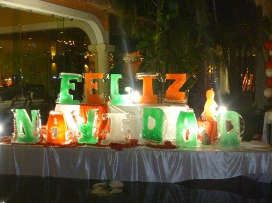 Grand Palladium Colonial Resort & Spa: Happy Christmas