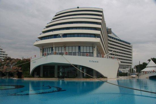 Titanic Beach Lara Hotel: Schön Hotel
