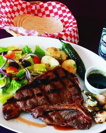 Burger Stop : Juicy premium quality steaks.