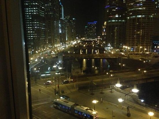 Wyndham Grand Chicago Riverfront: view from my living room window