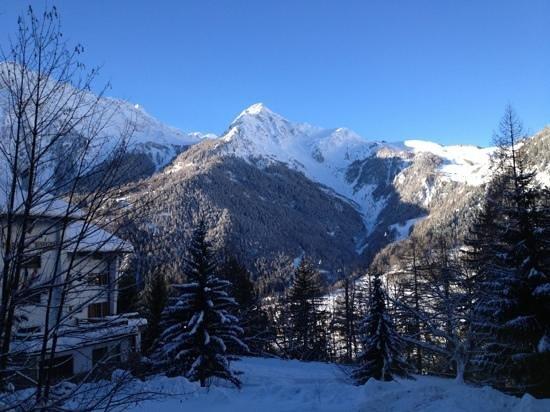 Hotel Chalet Plan Gorret: panorama... O____O