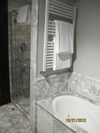 Bauer Casa Nova: Marble bathroom