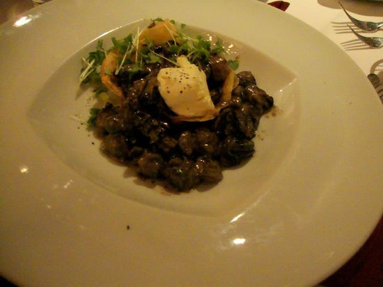 Sterling : escargot with mascarpone