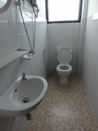 Chantha House: Salle d'eau