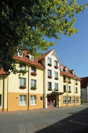 Flair Hotel Stadt Hoexter : Süd-Ansicht