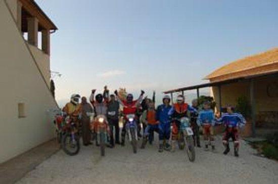 Poggio Tobruk: motocalcata Val d'Orcia