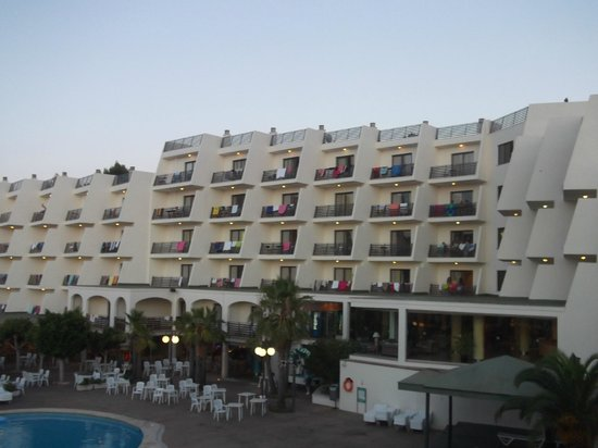 TRH Magaluf: View from our balcony!