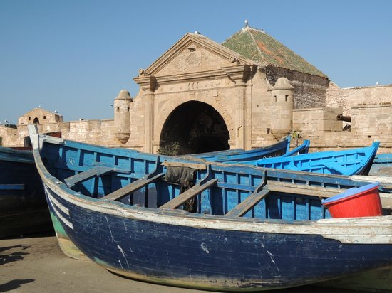Ouarzazate, Morocco: The old harbor and gate of Essaouira.