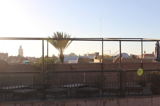 ‪رياض علاء الدين: A view from the roof terrace
