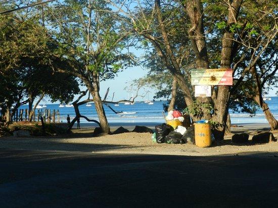 Cabinas Marielos: playa