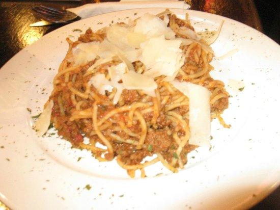 Portobello Hotel: Spaghetti Bolognese