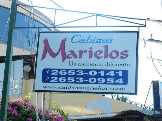 Cabinas Marielos: aviso