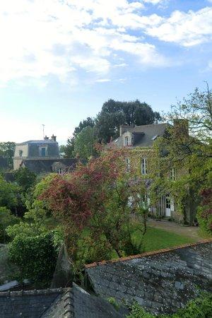 L'Auberge Bretonne: Hinterhof