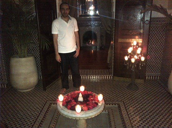 Royal Mansour Marrakech:                   In my Riad