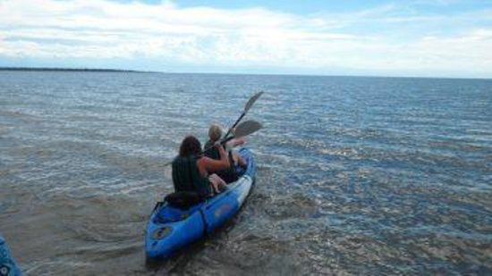 Pumulani: Kayaking!