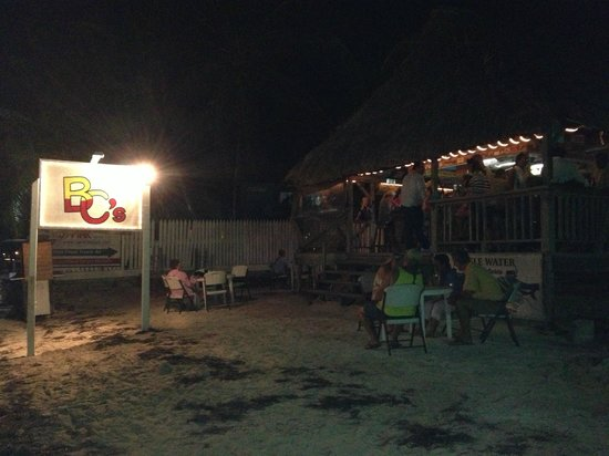 BC's Beach Bar and Grill: Fun night on the bar at BC's