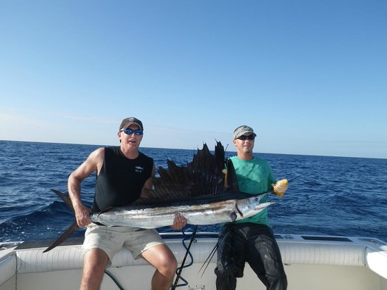 Reel Crackers Outfitters: Jasper's sail