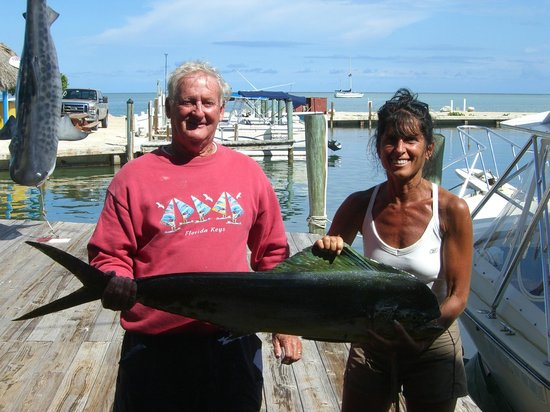 Reel Crackers Outfitters: Deb and captain John