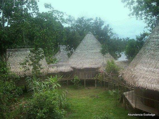 Abundancia Amazon Eco Lodge: Traditional Building techniques for the Eco lodge