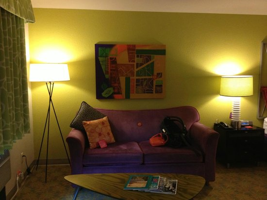 Inn at Northrup Station: We loved the funky decor