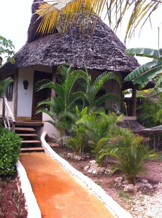 Green and Blue Ocean Lodge: our Bungalow...fab