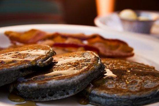 Tia's Cocina: Blue Corn Pancakes